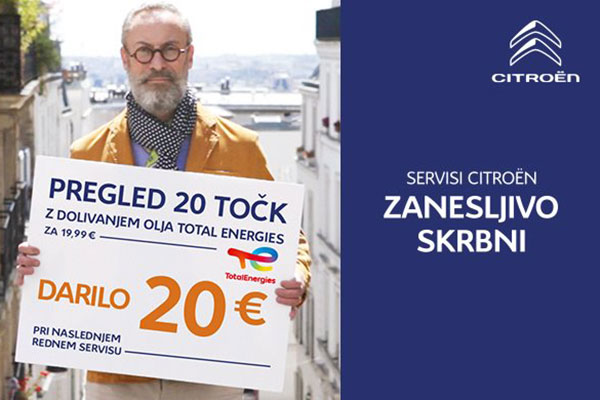 JESENSKI PREGLED VOZILA ZA 19,99€